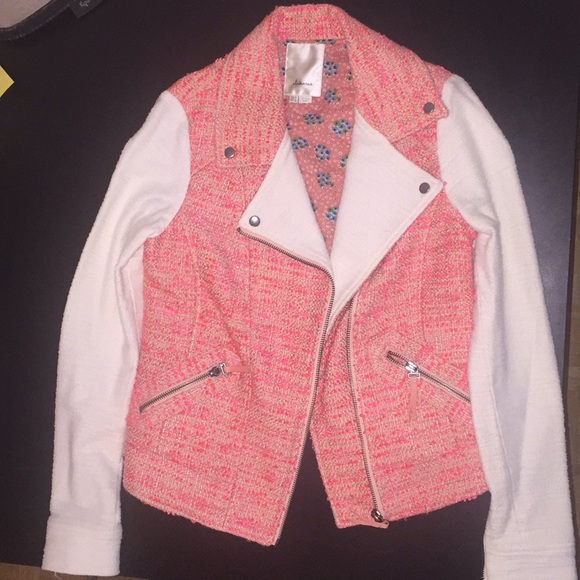 Anthropologie Jackets & Blazers - Anthropologie Elevenses Moto Jacket